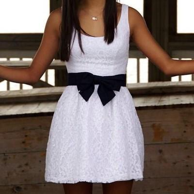 Fashion Dress, Cute Lace Bow Dress,..