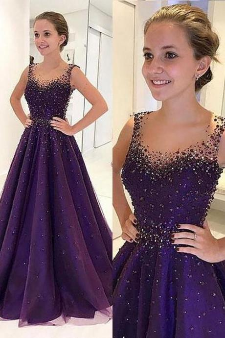 Long Floor Length Prom Dresses, Ball Gown Prom Dresses, Beading Prom dresses, Scoop Prom dresses, Long Floor Length Prom Dresses, Ball Gown Prom Dresses, Beading Prom dresses, Scoop Prom dresses,